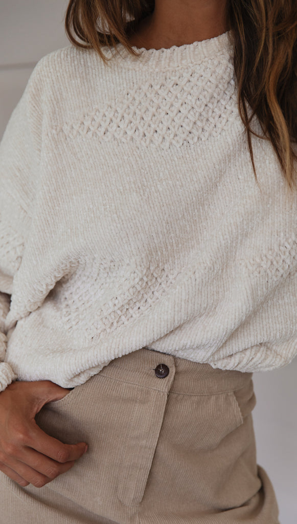 Charlie Knit (Off White)