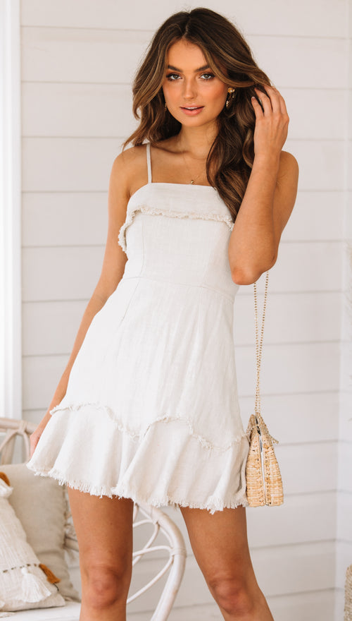 Lagoa Dress (Beige)
