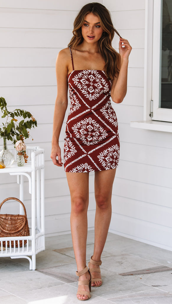 Mendoza Mini Dress