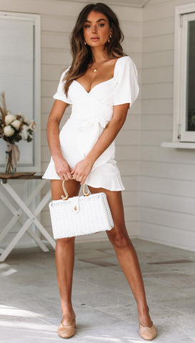 Marseille Dress (White)