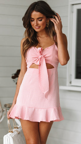 Seabrook Dress (Red Gingham)