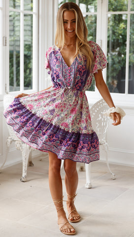 Tessy Dress (Orchid)