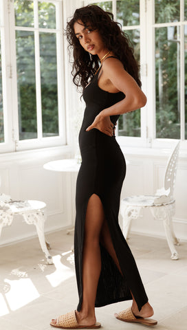 Cassandra Dress (Black)