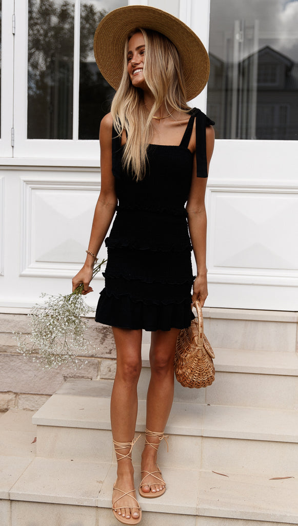 Mariah Dress (Black)