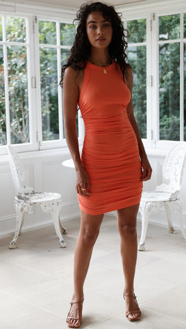 Essential Dress (Coral)