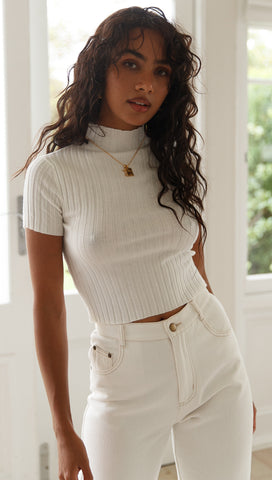 Teagan Top (White)