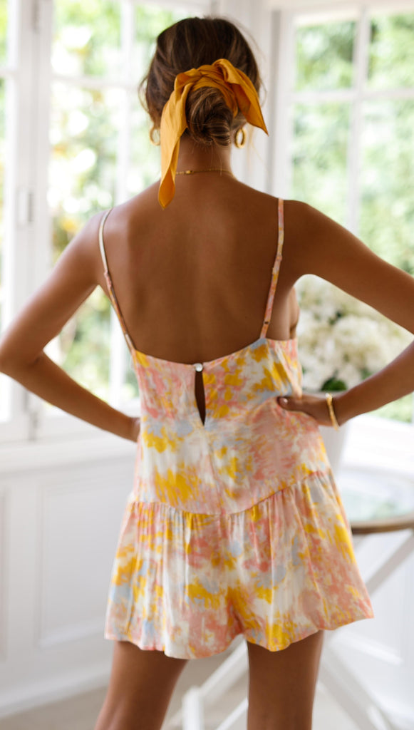 Sunrise Playsuit (Sample Sale)