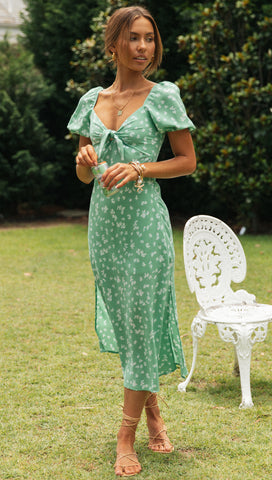 Azariah Dress (Mint)