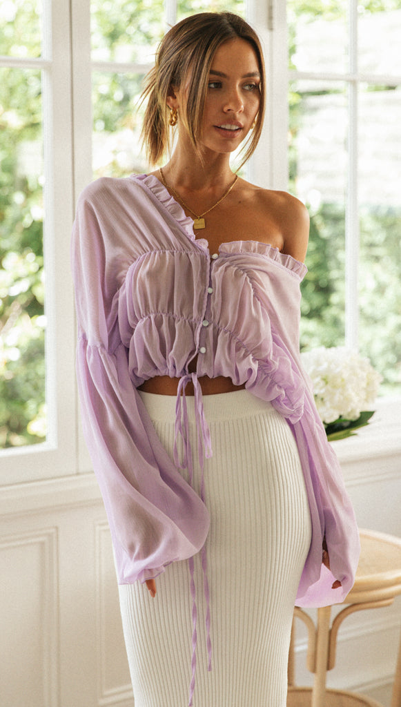 Prarie Top (Lavender)