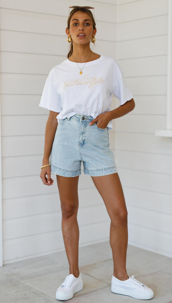 Beaumont Shorts (Blue Denim)