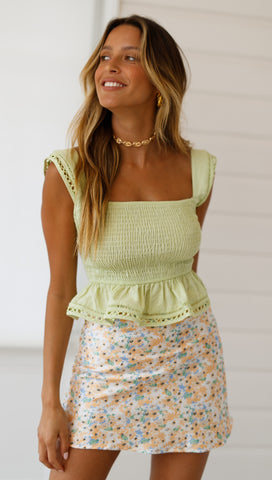 Tarcoola Top (Lime)