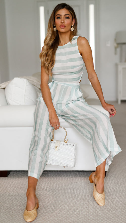 Ocean Breeze Jumpsuit