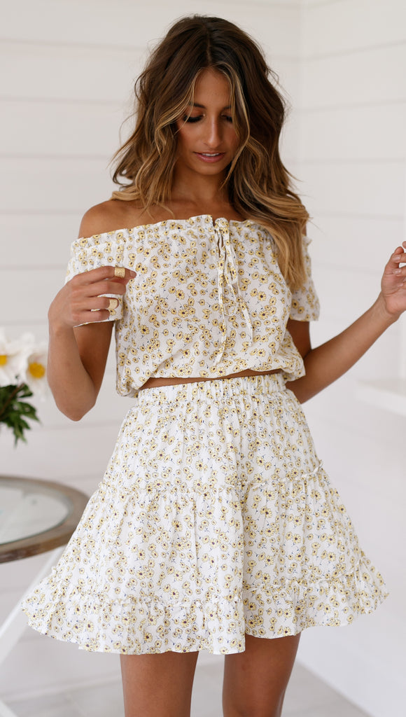 Daisy Club Skirt