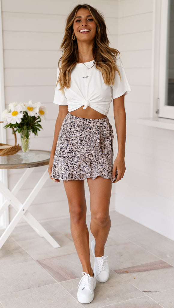Into the Wild Mini Skirt