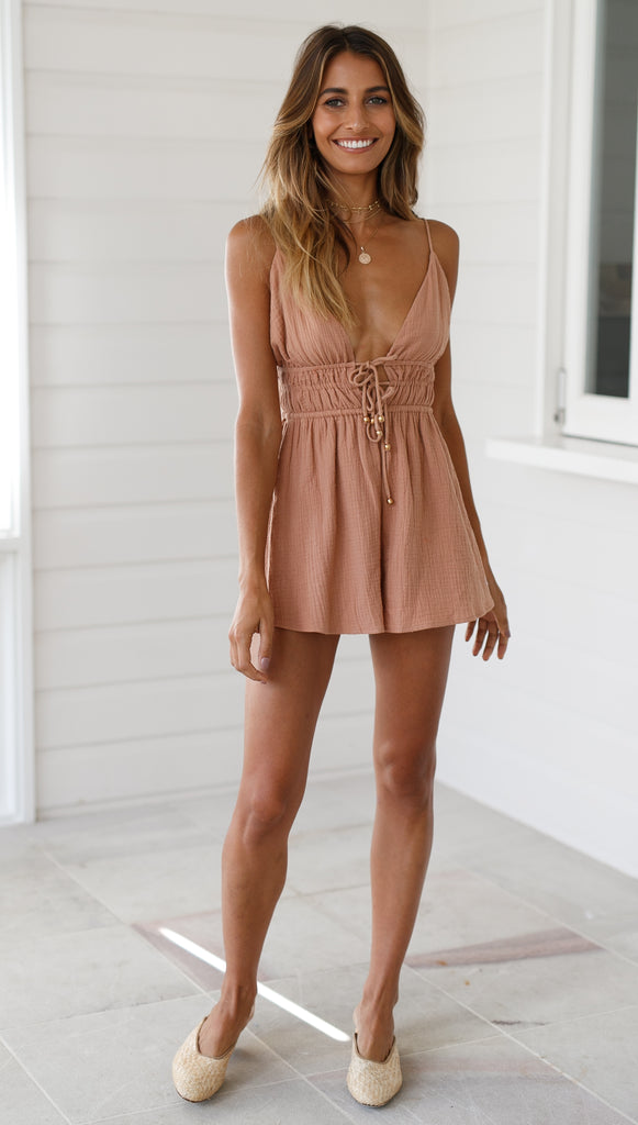 Yours Truly Playsuit