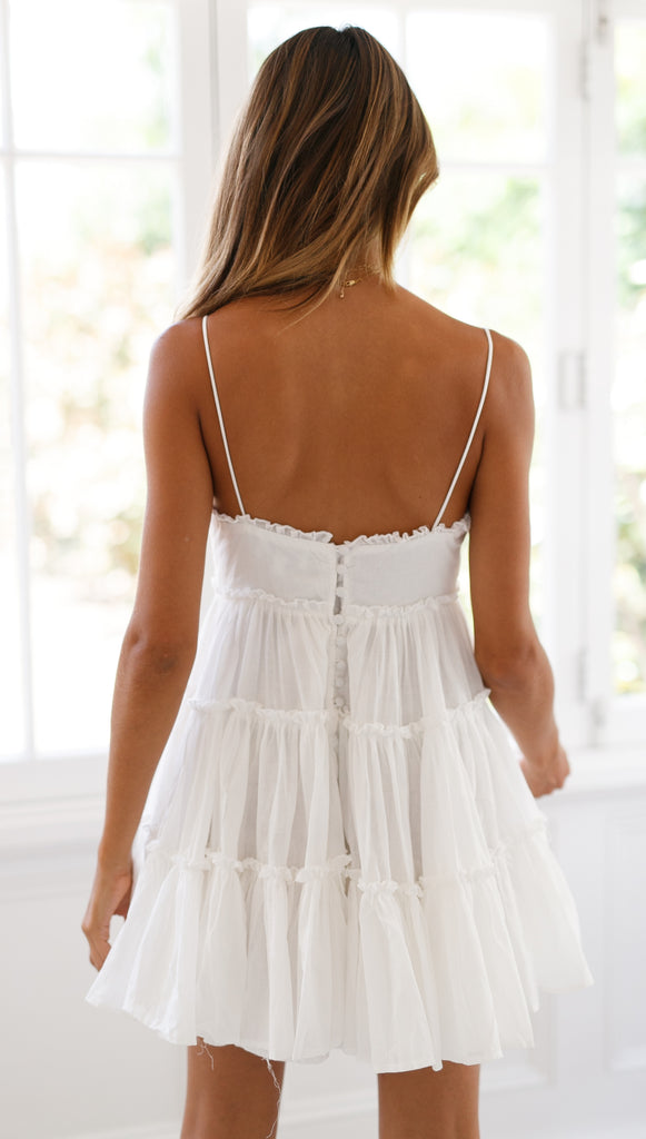 Dance With Me Dress (White)