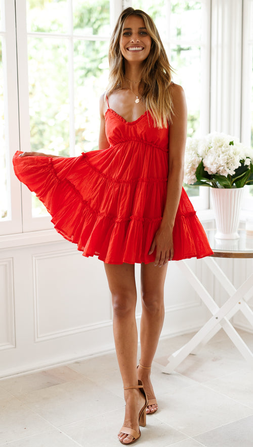 Dance With Me Dress (Red)