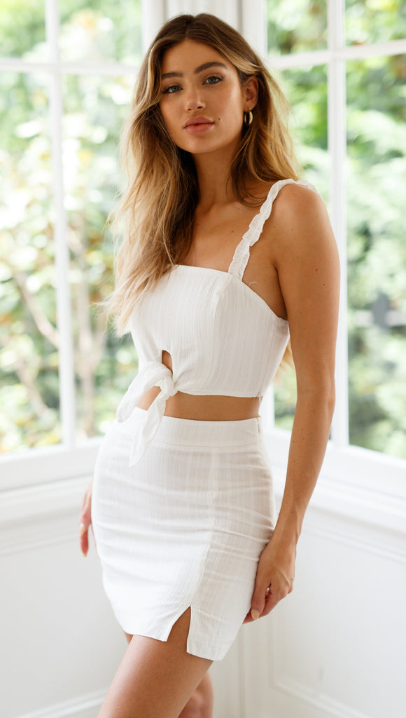 Hamptons Mini Skirt