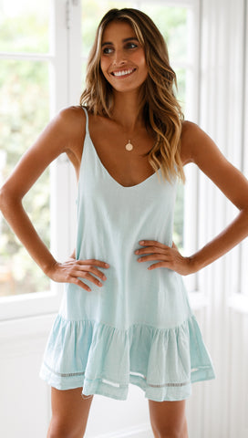 Brighter Star Dress (Teal)