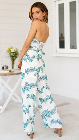 Darcy Palm Jumpsuit