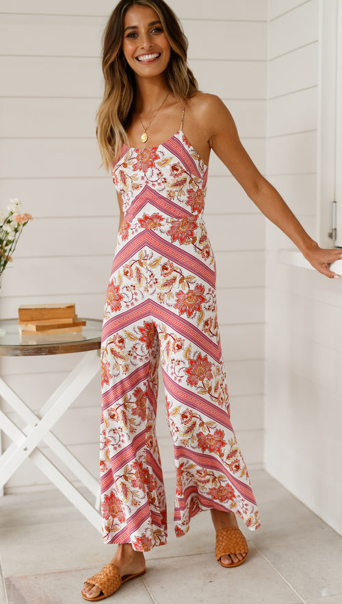 Wild Lotus Jumpsuit (Pattern)