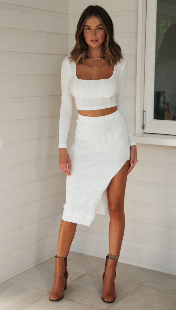Donatella Skirt (White)