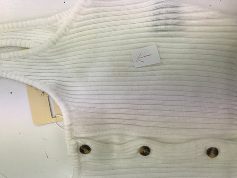 Albany Top (White) Sample Sale