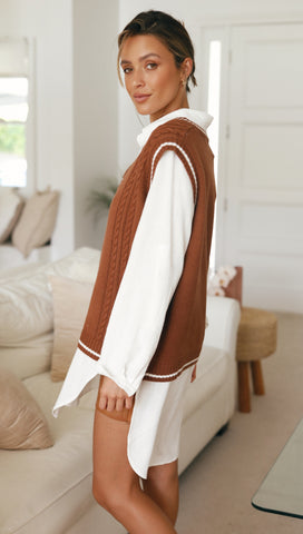 Isedale Vest (Chocolate)