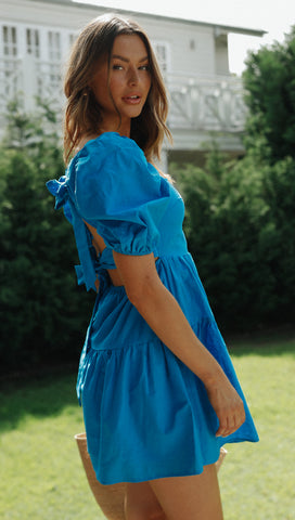 Eleri Dress (Cobalt)