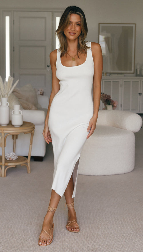 Curzon Dress (White)