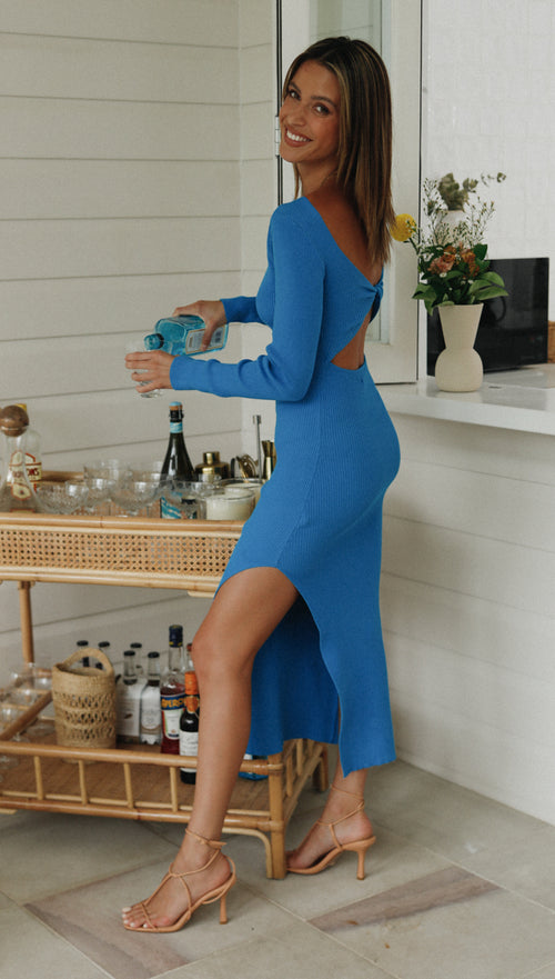 Aurore Dress (Cobalt)