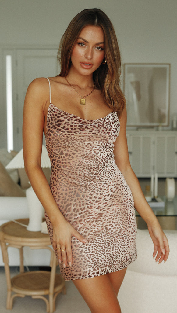 Ingrid Dress (Leopard)