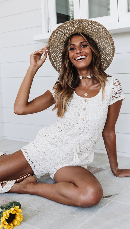 Warm Sand Playsuit