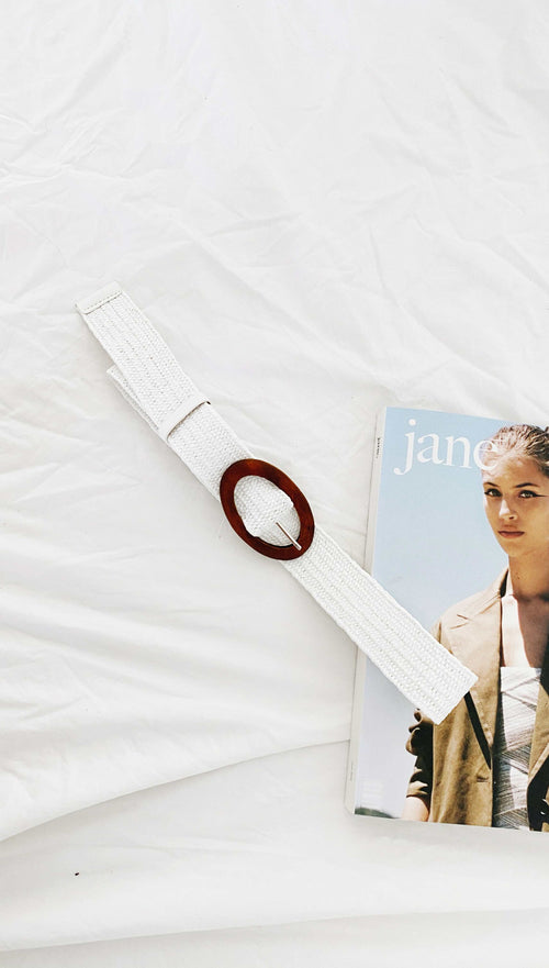 Narissa Belt (White)