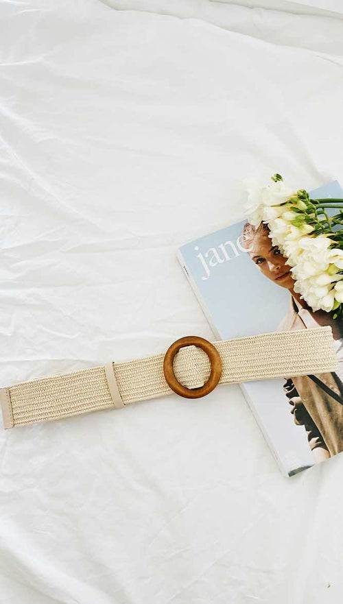 Palm Bay Belt (Light Beige)