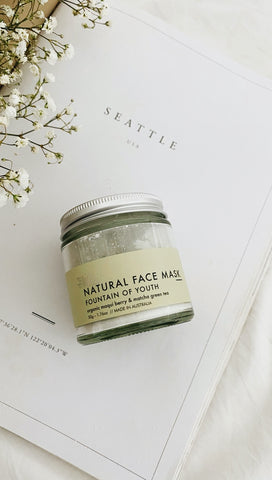 Fountain of Youth: Natural Clay Face Mask