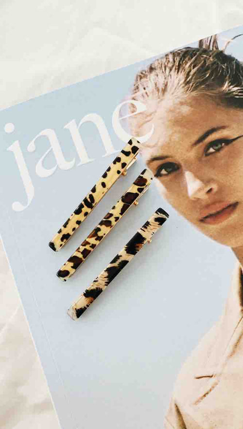 Dreamers Hair Clip (Animal Print)