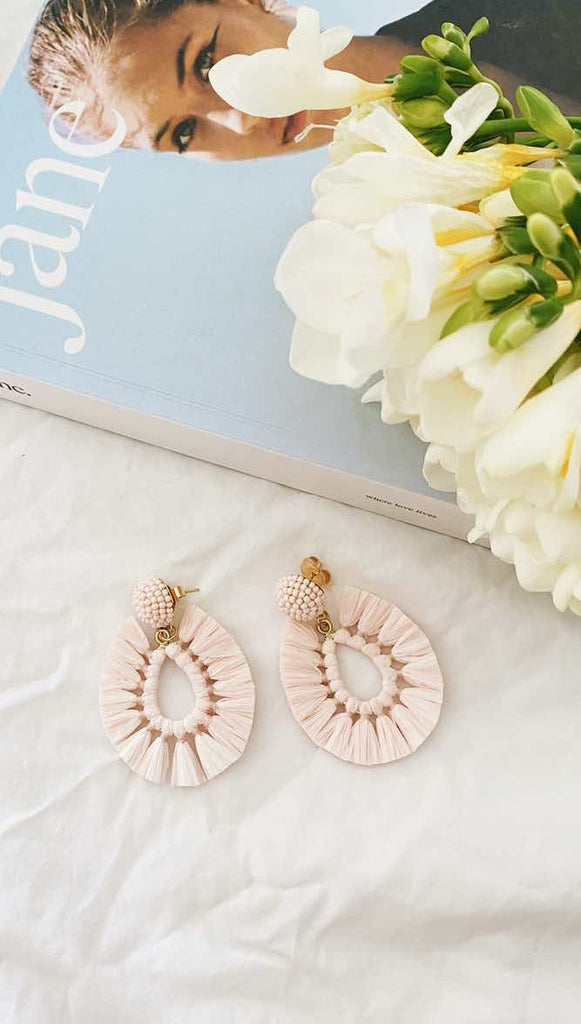 Viva Earrings (Peony)