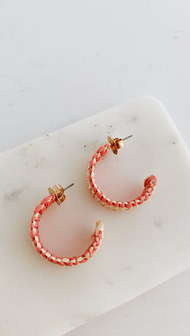 Costa Rica Earrings (Pink)