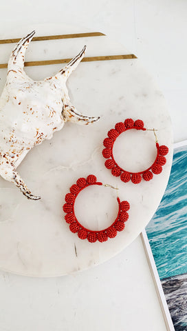 Bobbi Hoop Earrings