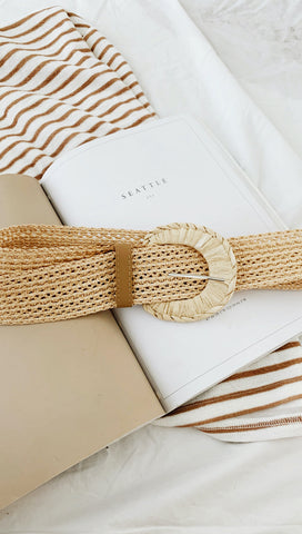 Houston Belt (Beige)