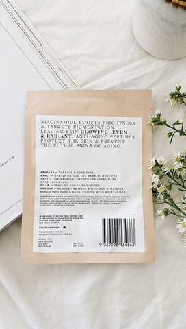 Brightening & Anti-Aging Sheet Mask