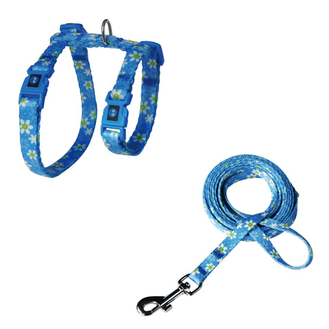 DOCO® 4ft Reflective Rope MINI Leash w/ Soft Rubber Handle