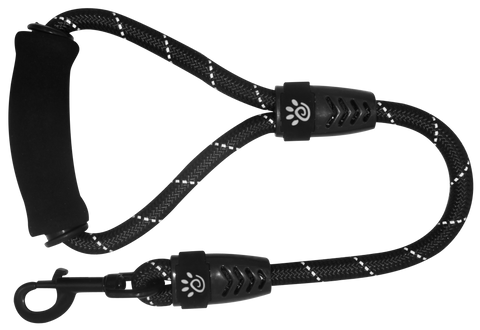DOCO® 4ft Shock Absorbing BUNGEE Leash - Black