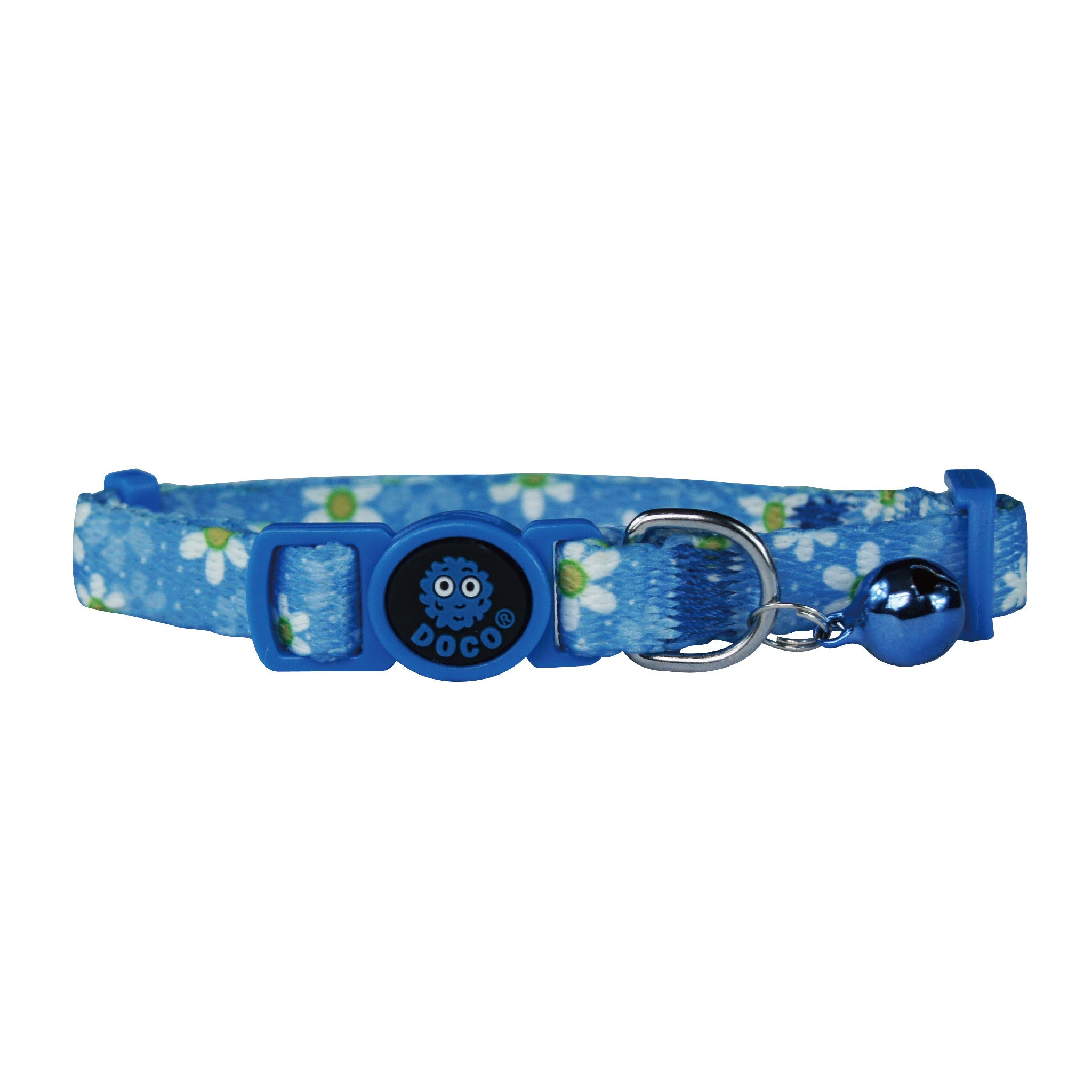 DOCO® LOCO Cat Collar - Blue Fish