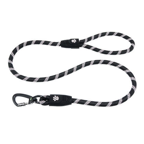 DOCO® 4ft Reflective Rope Leash w/ Super Soft Rubber Grip