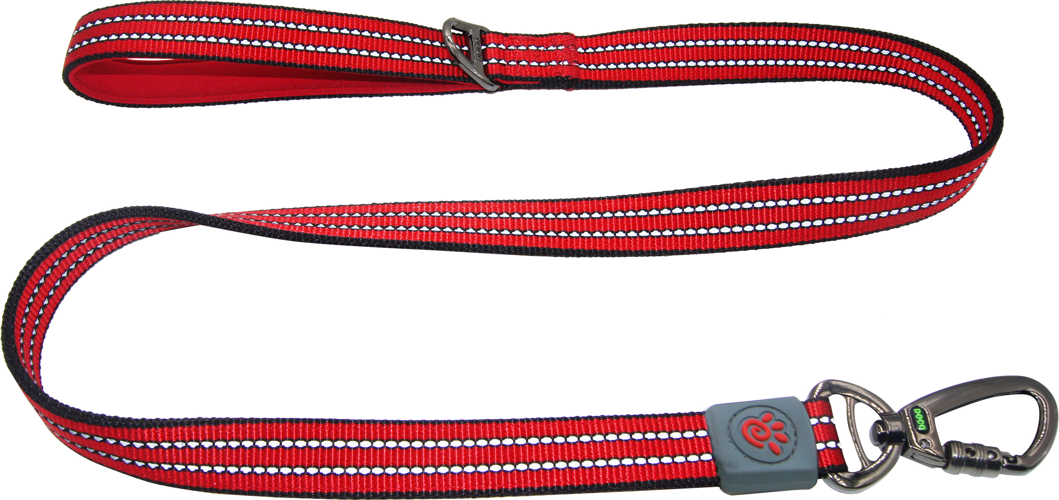 DOCO® VARIO Leash with Reflective Thread 6ft - www.docopet.com