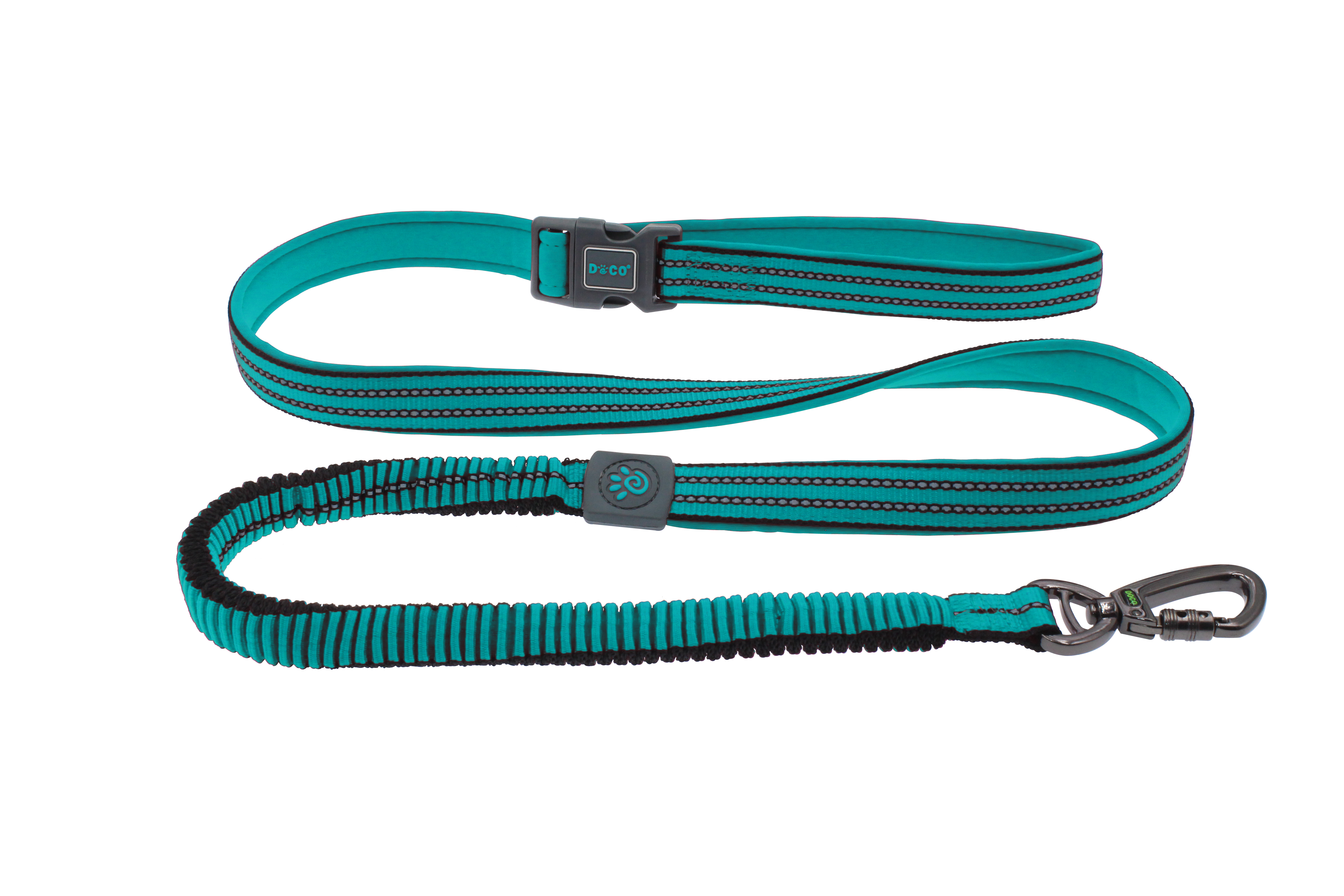 DOCO® VARIO Easy Snap™ BUNGEE Leash - 6ft - www.docopet.com