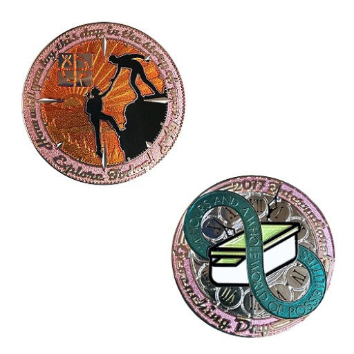 2017 International Geocaching Day Geocoin