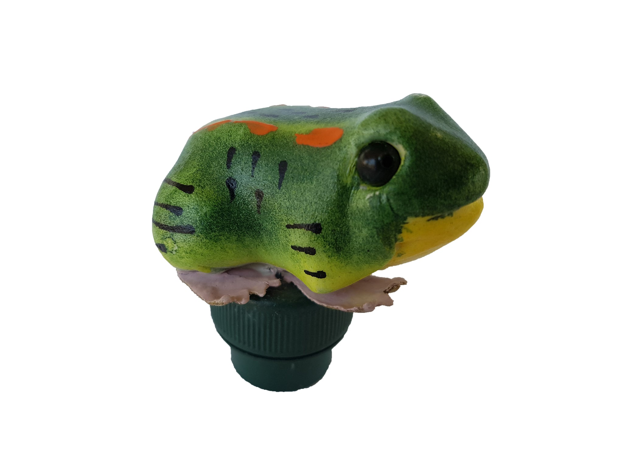 Frog Geocache Container